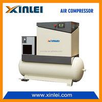 15HP screw air compressor with 500L tank and air dryer XLAMTD15A-AN 11KW 8 BAR kompressor three phase direct driven
