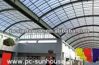Polycarbonate pergola carport roofing