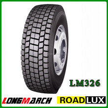 Alibaba china Double Road brand 295/80r22.5 truck tires suitable for minning