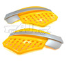 """BJ-HG-014 Wholesale new arrival universal yellow plastic 7/8"""" ATV scooter hand guard"""
