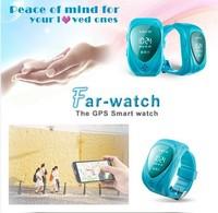 Mini life Waterproof GPS&Smart watch tracker, RF-V22 phone gps tracker for kids,take-off alarm make your kids more safe