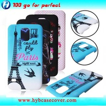Colored image Cellular phone cover+for samsungs+s5