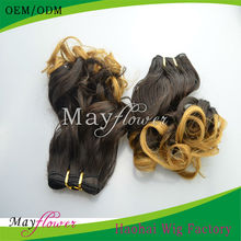 quality two color virgin brazilian hair weave china online shopping