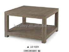 Farm Shabby Wood Square Small Antique Furniture Corner Table