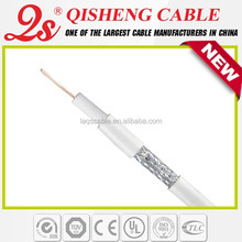 HS CODE 8544200000 QS/OEM QS coaxial cable factory RG6 antenna cable cable and internet providers by zip code
