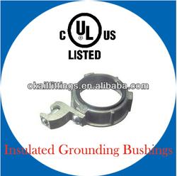 High quality Insulated Grounding Bushings with lug