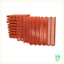 Best price animal plastic flooring,hard pig plastic floor for sale