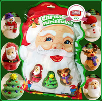 Father christmas santa claus jelly soft candy