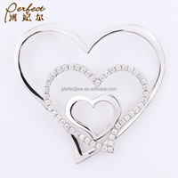 CZ fashion accessories in silver materals with wholesale price