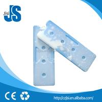 800Ml reusable insulation plastic ice cooler box, 33*11.5*2cm gel ice pack wholesale for mini fan