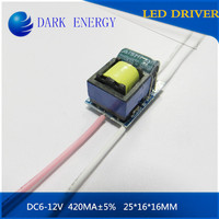minute extension 3*2W led driver 420MA constant current power supply