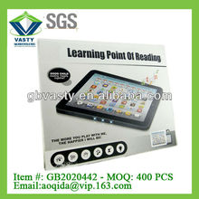 English pad toy leaning point of reading