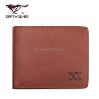China top Brand Classic business men Leather Wallet