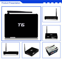 Android TV Box T6 4.4 OS With Amlogic 805 QUAD Core 1G RAM 8G ROM with Kodi fully loaded smart tv box