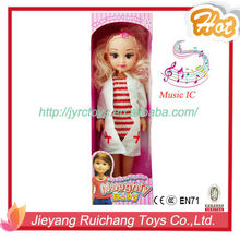 Fashion Girl Doll Hospital Nurse Doll With IC Music By YX006B1
