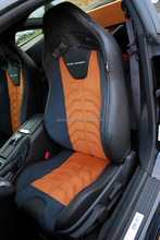 Customized pattern Italian leather car seat cover for Ford Mustang