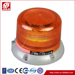 amber waterproof strobe led beacon warning light/ emergency vehicle police warning beacon light