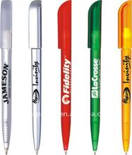 plastic hotel twist pen with logo