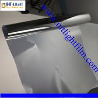 Intlight Brand DL28CDF model 1.52 m length 2 mil thickness anti heat UV blocked black stained vinyl building glass window film