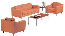 Guangzhou Factory Office Leather Sofa Furniture Sofa Soft Furniture F-43