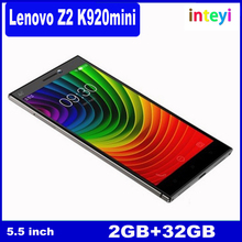 Original Unlocked Lenovo VIBE Z2 Pro K920, 6.0 inch IPS Screen 4G Android 4.4 Smart Phone, MSM8974AC Quad Core 2.0GHz, RAM: 3GB,