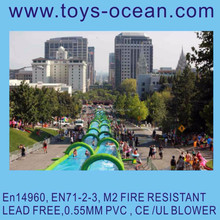 super inflatable sliding the city slide the city Water slide the city customized