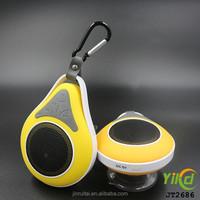 2015 Portable waterproof Bluetooth shower Speakers with mic,handfree
