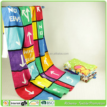 cotton printed game beach towel printed cotton beach game towel,factory direct price for cotton beach game towel