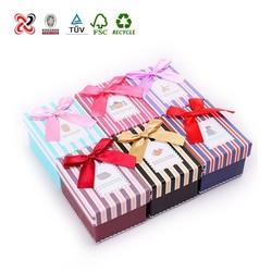 Elegant Colorful Paper Wedding Box