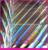 glass fragment pattern self adhesive holographic film