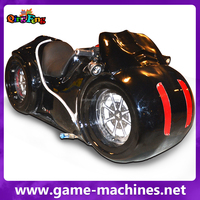 Qingfeng kids coin operated game machine racing bike moto game machine motorcycle simulator