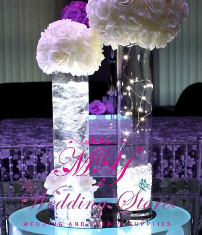 wedding table decoration vase decorative light view