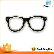 Black Wholesale Eye Glasses Custom Metal Lapel Pin