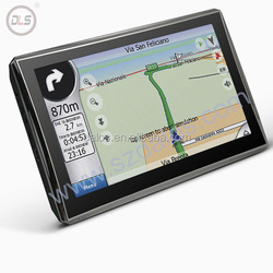High quality 5 inch auto car gps navigation with 4GB free map universal navigation gps