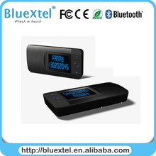 New Style CSR bluetooth chip handsfree car kit with solar charging pannel