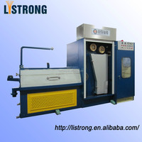 22DTA electromagnetic brake high speed horizontal fine wire drawing machine with continuous annealer
