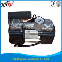 Top quality gas generator 12V portable air compressor with double cylinders for sale