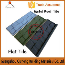 Blue roof shingles roofing with stone coated materials/Stone coated metal roof tile