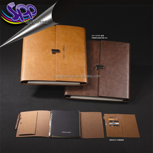 Refillable Leather Pocket Notebook Mini Composition Cover Standard Mini Composition Book