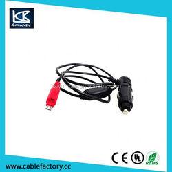 5V 1A 9V 2.1A Output 12v 2a output usb car charger