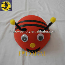 Cute Red Bee Shape Children Carnival Party Caps