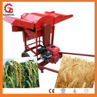 Samll model Sorghum/barley/millet/soybean/ paddy thresher machine