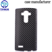 G4023 Carbon PU + PC Mobile Phone Back Case for LG G4