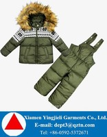 High Quality Customized Children Snowsuits For OEM