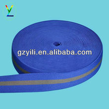 polyester twill colored striped elastics
