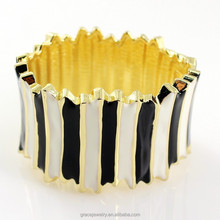 Latest Design Vogue Enamel Bangle Wholesale Fashion Jewelry
