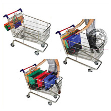 Professional Produce Foldable Reusable Shopping Cart Bag