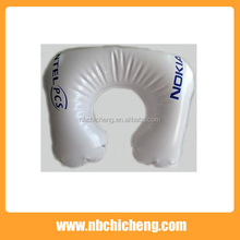 U type travel use inflatable neck cushion relax pillow