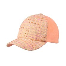 guangzhou fashion linen cotton wholesale children kids baby plain baseball cap