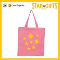 Promotional china manufacturer cheap cute cotton canvas tote bags for shopping